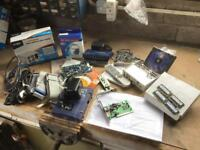 Computer spares-Power Supply, FireWire card, Creative Blaster Live Pt, PC133 memory