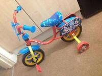 Mickey and Minnie Mouse bike