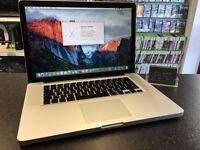 "MacBook Pro 2011 15"" Intel Core i7 2.00GHz 8GB 750GB"