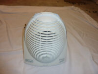 DeLonghi small and compact 2400 watt thermostatically controlled electric convection fan heater