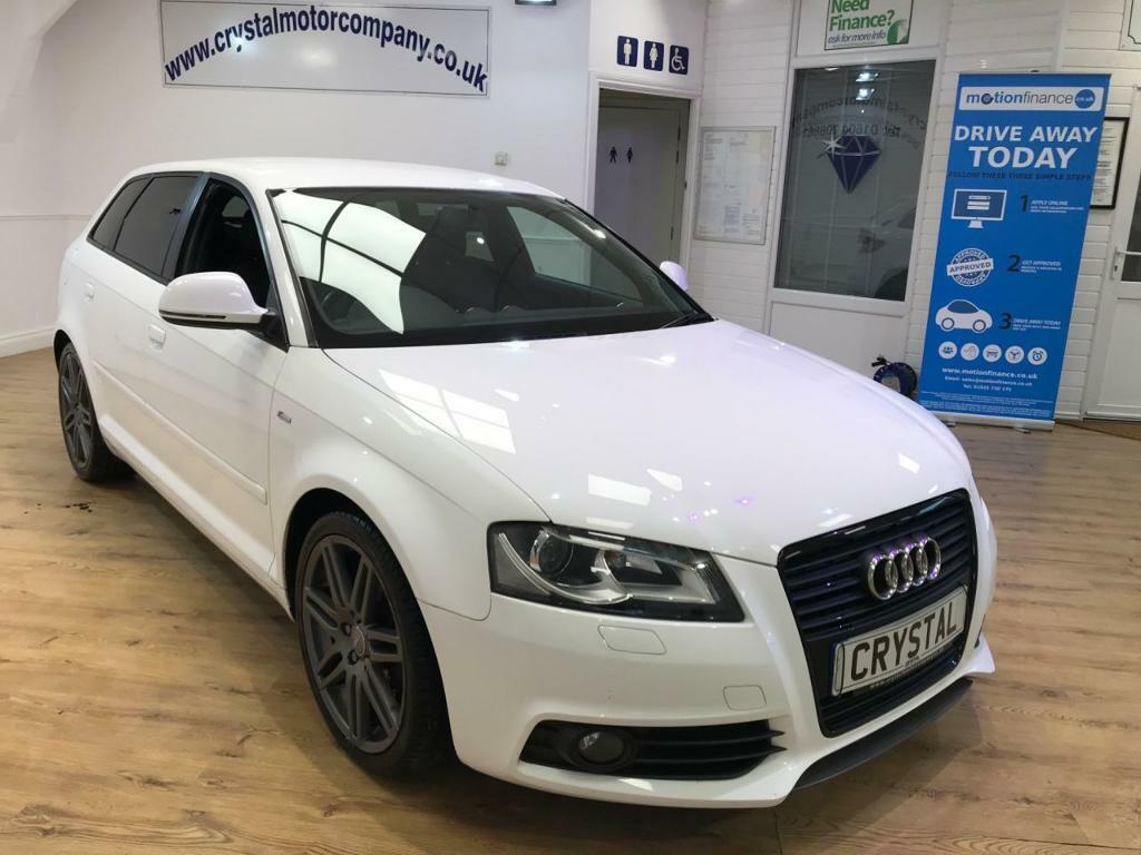 audi a3 2 0 sportback tdi s line special edition 5d 138 bh white 2009 in northampton. Black Bedroom Furniture Sets. Home Design Ideas