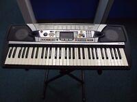 Yamaha PSR-282 Keyboard With Box,Power Adaptor & Stand