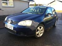 2007 Vw golf 1.9 ... LOW miles78k.. FULL SERVICE.. only 2 owners..1YearMOT...NEW TIMING BELT