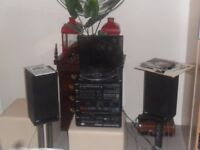 stereo system philiips 1980 with original manual and in full working order