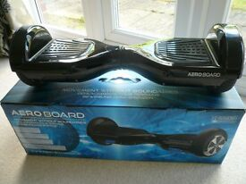 Black Aero Board Balance Board Hoverboard Scooter Segway Boxed Complete Warranty