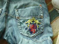 mens lambretta jeans