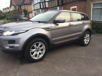LAND ROVER RANGE ROVER EVOQUE FULL SERVICE HISTORY 2 X REMOTE KEYS, GREAT SPEC
