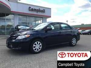 2011 Toyota Corolla CE ENHANCED LOW KM'S CRUISE LOCAL TRADE!