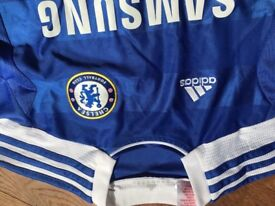 Kids Chelsea football tops x 2