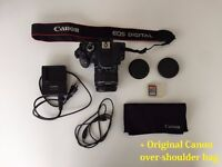 Canon 600D Digital SLR Camera with EF-S 18-55mm FULL PACKAGE PERFECT CONDITION