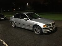 BMW 323 series E46 model in silver,good condition drives well px welcome