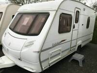 Ace jubilee envoy fixed bed 2007 touring caravan