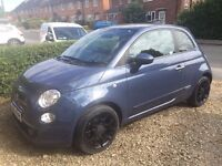FIAT 500. VERY LOW 12K MILEAGE. ONE OWNER. AS NEW.