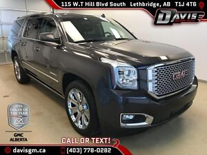 Used 2015 GMC Yukon XL Denali-4WD, Heated/Cooled Leather, Naviga