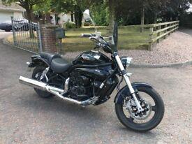 2016 hyosung 650cc motorcycle