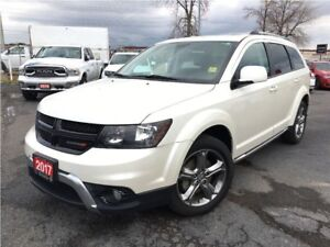 2017 Dodge Journey CROSSROAD**LEATHER**DVD**NAV**SUNROOF**