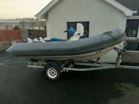 Seadoo Explorer Jet rib. Jetski / RIB / Speedboat / fishing boat / outboard .