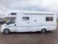 Bessacar E795 Five Berth Motorhome for sale Low Mileage Rear Seat Belts Rear Lounge £23,995