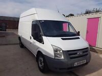 FORD TRANSIT 100 T350L RWD 2008REG MWB HIGH TOP FOR SALE
