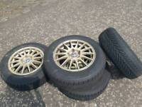 Ford transit connect alloys 15