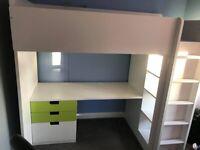IKEA STUVA / STUVA MÅLAD Loft Bed