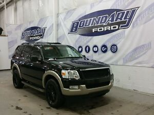 2010 Ford Explorer Eddie Bauer W/ Leather, Sunroof, Third Row