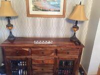 Kamenka solid wood sideboard