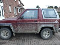 4x4 for sale great for off road head gasket just gone still drives