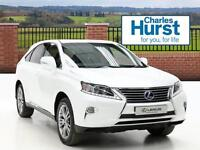 Lexus RX 450H LUXURY (white) 2012-09-01