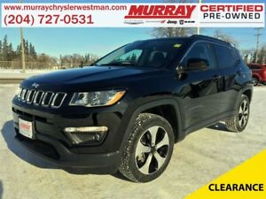 2017 Jeep Compass North 4WD *Nav* *Backup Cam* *Heated Seats*