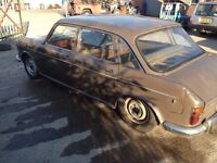 wolseley 18/85 and spares car