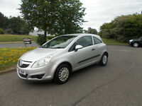 VAUXHALL CORSA 1.0 LIFE HATCHBACK SILVER NEW SHAPE 2007 ONLY 70K MILES BARGAIN £1250*LOOK*PX/DELIVER