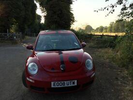 2008 VW Beetle , Red, LadyBug Decals, Sun-Roof, 2.0 Petrol Auto