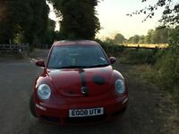 2008 VW Beetle , Red, LadyBug Decals, Sun-Roof, 2.0 Petrol Auto