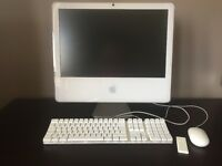 APPLE IMAC 20inch 2.16ghz Core2Duo Late 2006 Snow Leopard OSX 10.6.3 250GB Hard drive 2GB RAM