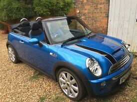 MINI CONVEERTIBLE 1.6 COOPER S 2dr Excellent condition, lovely fun car, very careful lady owner