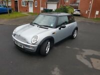 2003 MINI HATCHBACK 1.6LTRS PETROL 3DRS WEEKEND BARAGIN £849 CALL 07440307417