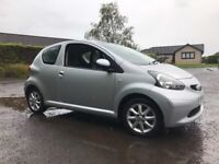 IDEAL FOR NEW DRIVERS, 2008 TOYOTA AYGO PLANTINUM HALF LEATHER FULL SERVICE HISTORY