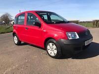 Fiat panda 1.1 petrol long mot low mileage full history 2008 plate
