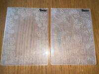 2 Christmas Embossing Folders
