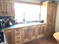 Hand Crafted Kitchen Units - Pine