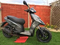 Piaggio typhoon 50cc 63 plate, 12 months mot, great little scooter