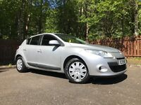Renault Megane 2009 New Shape Full Years Mot On Purchase Low Miles Service History Drives Great !!!!