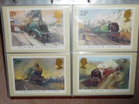 Royal Mail Stamp Post Cards (PHQ)
