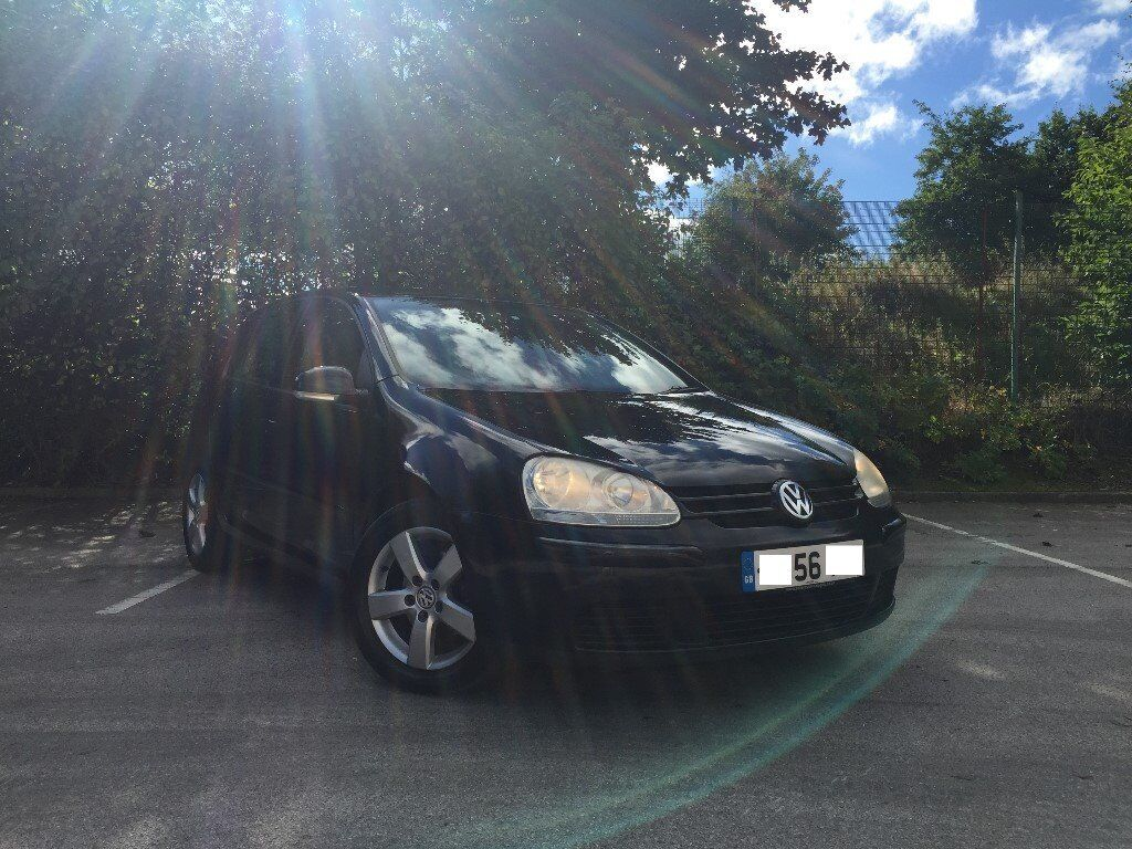 VW GOLF 1.9 TDI, TIMING BELT CHANGED, BLACK, EXCELLENT CONDITION