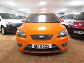 2007 ford focus st orange mint inside and out 75000 miles mot to feb belfast newry dungannon