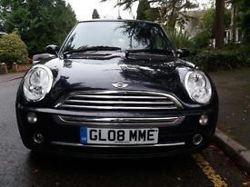 Mini Copper Convertible 2008, £3150