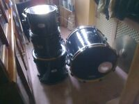 PEARL EXPORT DRUM KIT SHELLS ONLY