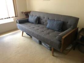 Grey 6ft sofa
