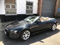 BMW 630i Convertible - FULLY LOADED - AUTO - SAT NAVI - DVD